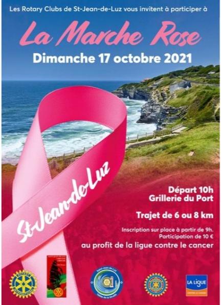 """Marche """" octobre Rose """" : lutte contre le cancer du sein"""