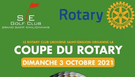 Golf Coupe du Rotary - Dimanche 3 octobre